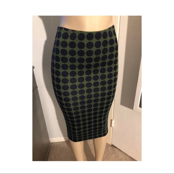 37d21fe4d6 Bailey 44 Skirts   Xs Womens Polkadot Pencil Skirt   Poshmark